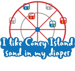 I like Coney Island sand in my diaper